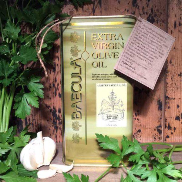 Olivenolje extra virgen Baecula 1 liter