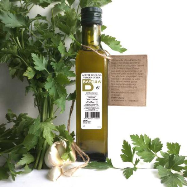 Olivenolje extra virgen Baecula, 250 ml