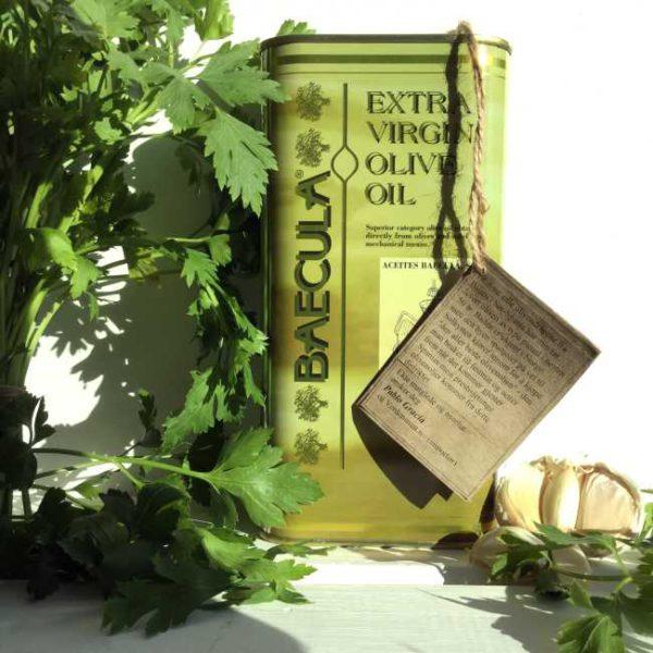 Olivenolje extra virgen Baecula, 1 liter