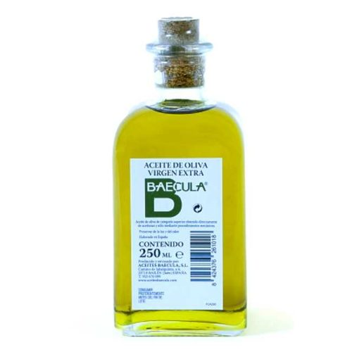 Kaldpresset, extra virgen olivenolje fra Bailén i Sør-Spania, 250 ml