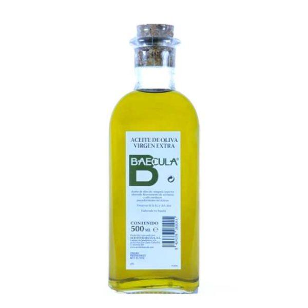 Kaldpresset, extra virgen olivenolje fra Bailén i Sør-Spania, 500 ml