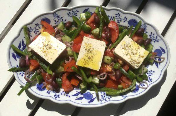 Gresk salat (den autentiske)