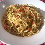 Spaghetti aglio e olio – Spagetti med olje og hvitløk