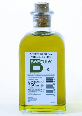 "Olivenolje extra virgen ""Baecula"", 250 ml"