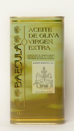 "Olivenolje extra virgen ""Baecula"", 1 liter"