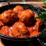 Albóndigas en salsa de tomate – Spanske kjøttboller i tomatsaus