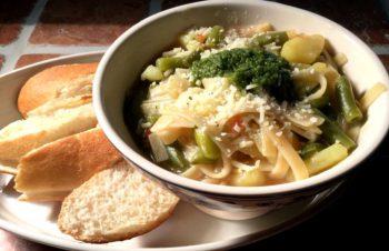 Soupe au pistou – Pestosuppe fra Provence