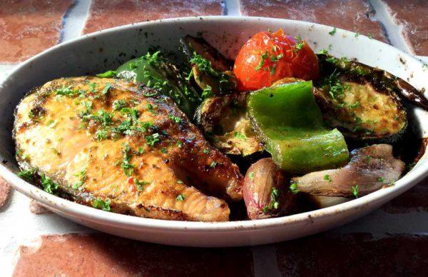 Cajun salmon (or trout) – Laks (eller ørret) på cajunvis