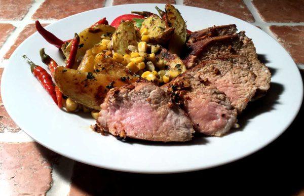 Spicy Cajun pork tenderloin – Kreolsk svinefilet
