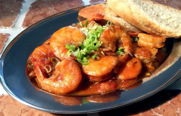 Spicy Cajun XL shrimps – Kongereker på Louisiana-vis