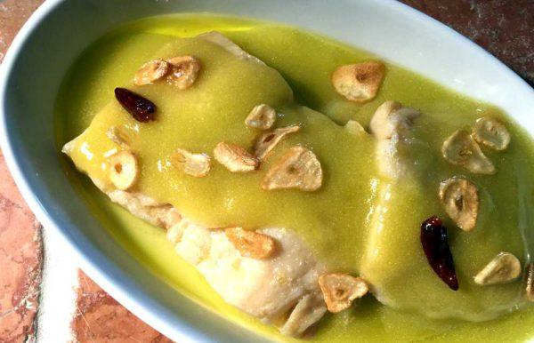 Bacalao al pil pil – Baskisk bacalao i chili og hvitløk
