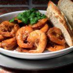 Crevettes à la mauricienne – Kongereker fra Mauritius
