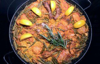 Paella valenciana (den autentiske paellaen)