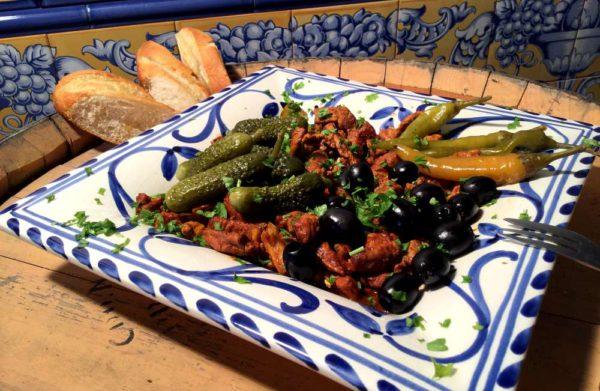 Pica pau – Rask portugisisk svinepanne