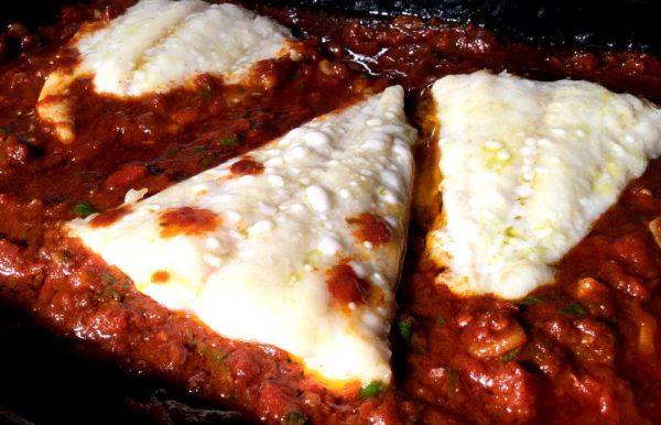 Bacalao con samfaina – Torsk på katalansk vis