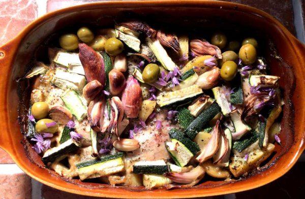 Poulet à la sarriette – Fransk sarkylling