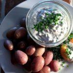 Kräuterquark – Kvarg/kesam med urter