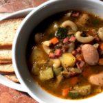 "Minestrone – Italiensk ""tykk suppe"""