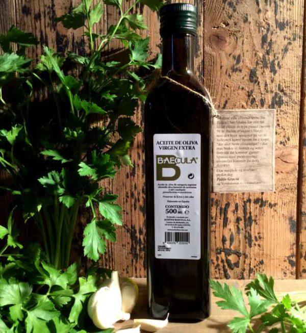 Olivenolje extra virgen Baecula, 500 ml