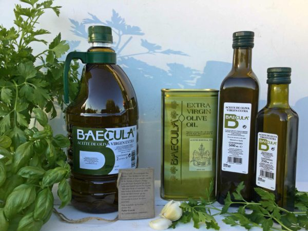 "Olivenolje extra virgen ""Baecula"""