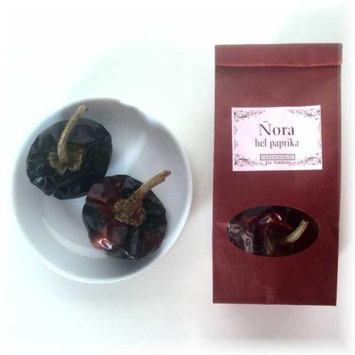 2 stk hele ñorapaprika (8-10 g)