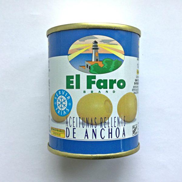 "Oliven med ansjos eller ""Aceitunas con anchoa"""