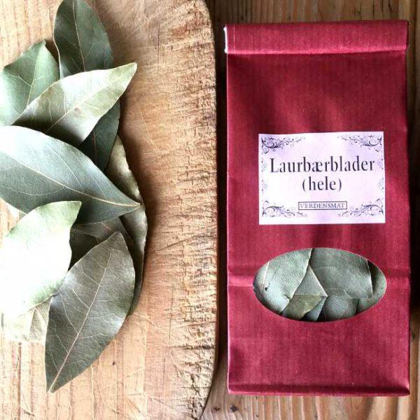 Tørkede laurbærblader