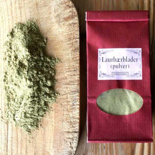 Laurbærbladpulver