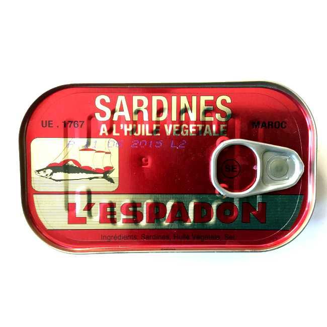 """Sardiner i olje """"L'Espadon"""""""