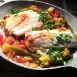 Fersk torsk på nordspansk vis med Pimentón de La Vera