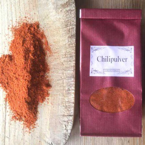 Chilipulver, sterkt