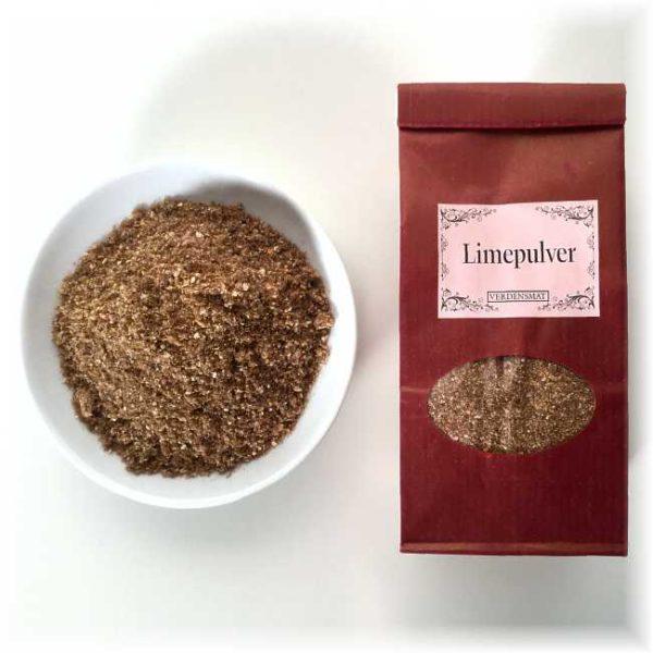 Limepulver (tørket lime)