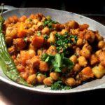 Kumror chokka – Bengalsk gresskar- og kikertcurry