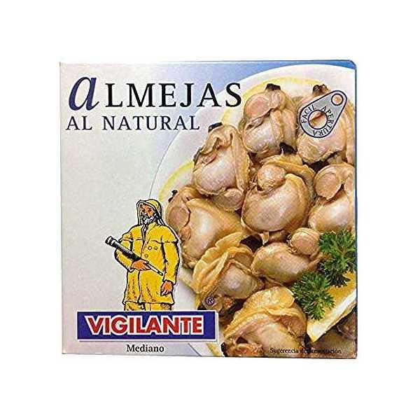 """Muslinger (vongole), eller """"almejas"""" på spansk"""