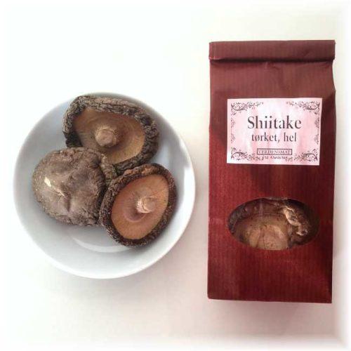 20 g hel, tørket shiitakesopp