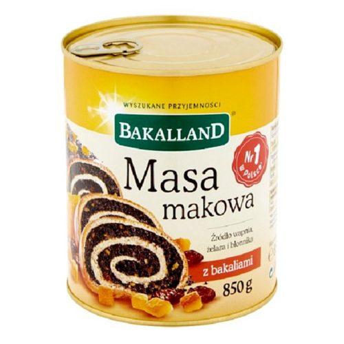 850 g masa makowa (valmuefrømasse) fra polske Bakalland