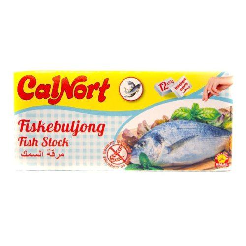 Fiskebuljongterninger fra spanske CalNort, 12 stk