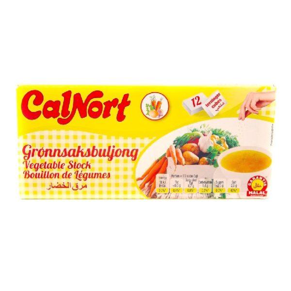 Grønnsaksbuljongterninger fra spanske CalNort, 12 stk