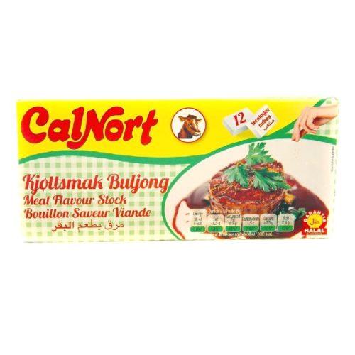 Kjøttbuljongterninger fra spanske CalNort, 12 stk