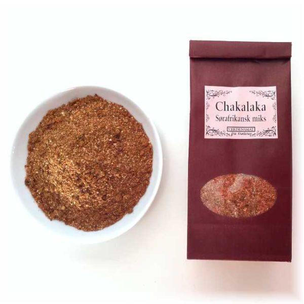 Chakalaka, sørafrikansk krydderblanding, 60 g