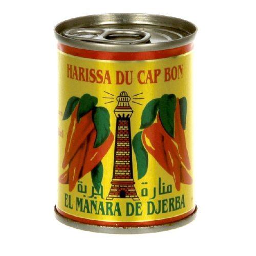 Harissa (chilisaus) fra Cap Bon, Tunisia (boks, 135 g)