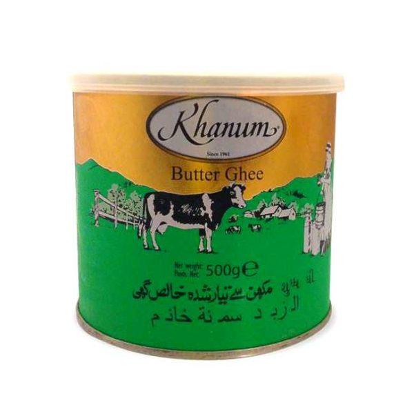 Ghee / klaret smør, 500 g/ml