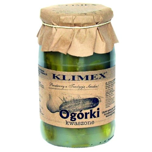 Hele agurker i krydret saltlake fra Polen, 800 g