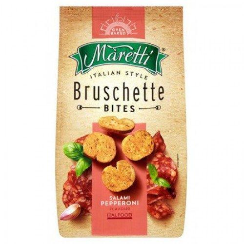 Bruschette med salami og peperoni, Maretti, 70 g