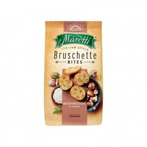Bruschette med sopp og rømme, 70 g