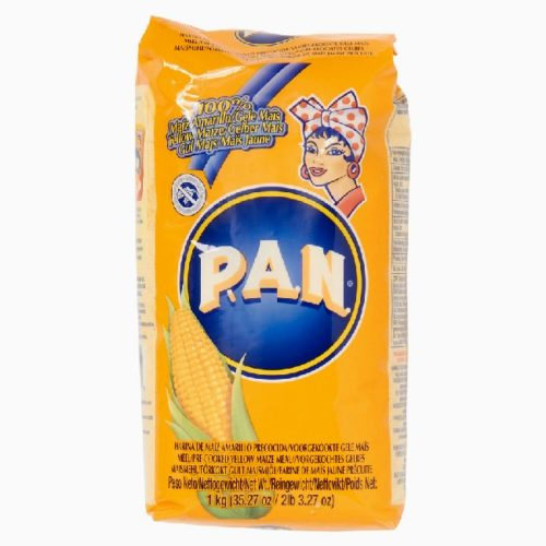 P.A.N. harina gult forkokt maismel, 1 kg