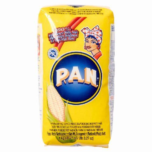 P.A.N. Harina, hvitt forkokt maismel, 1 kg