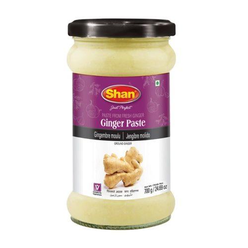 Ingefærmos (ginger paste) fra den pakistanske produsenten Shan, 310 g
