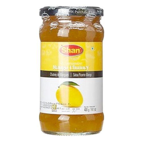 Mango chutney fra den pakistanske produsenten Shan, 400 g