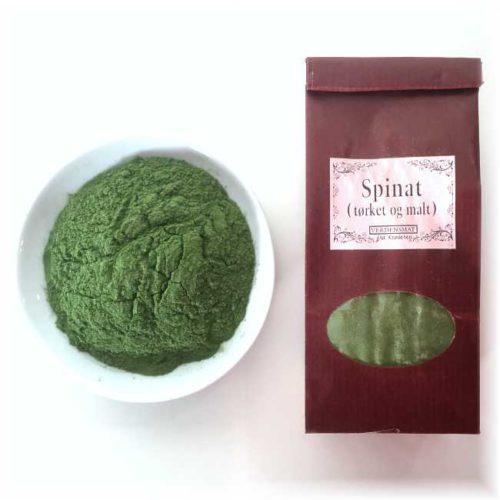 50 g tørket og malt spinat